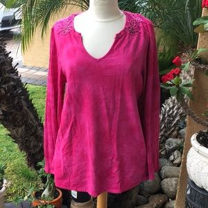Long sleeve top size 14/16
